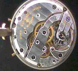 Vacheron & Constantin calendar watch - movement